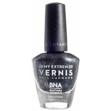 My Extrem Vernis Black Metallic Silver 105
