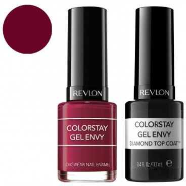 Pack Revlon Vernis à Ongles ColorStay Gel Envy Queen Of Hearts