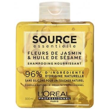 Shampooing Fleurs de Jasmin et Huile de sésame Source Essentielle 300ML