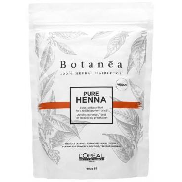 Coloration Professionnel Botanea 100% végétale Pure Henna 400 Grs
