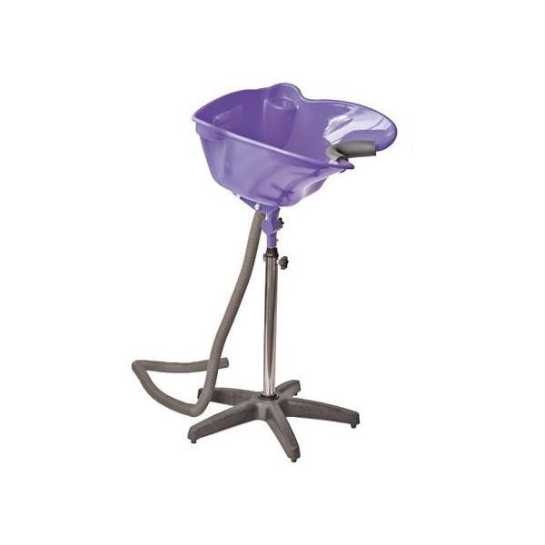 bac lave t te sur pied noum a violet. Black Bedroom Furniture Sets. Home Design Ideas