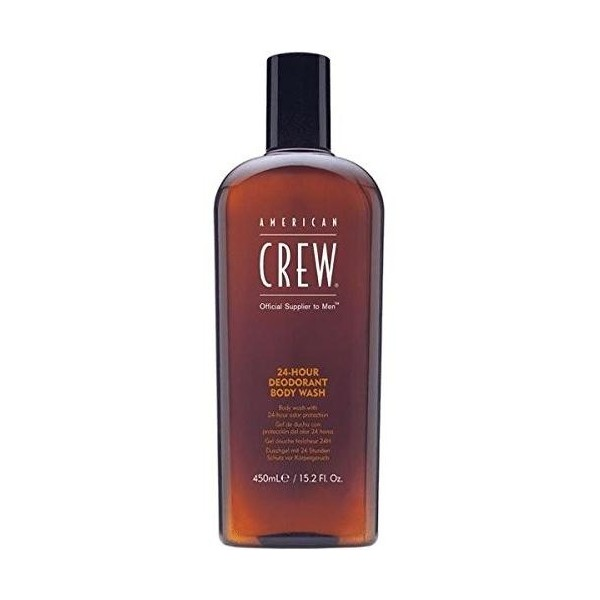 Gel doccia American Crew 24H deodorante lavaggio del corpo 450ml