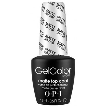 OPI Vernis Gel Color Matte Top Coat 15 ml