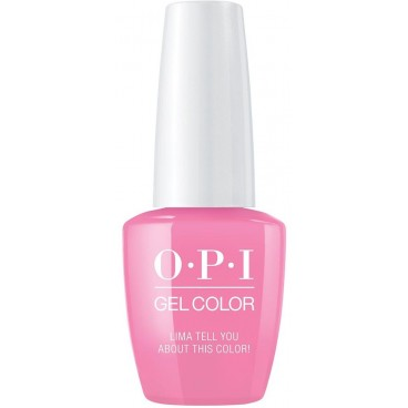 OPI Vernis Gel Color GC - Lima Tell You About This Color! 15 ml