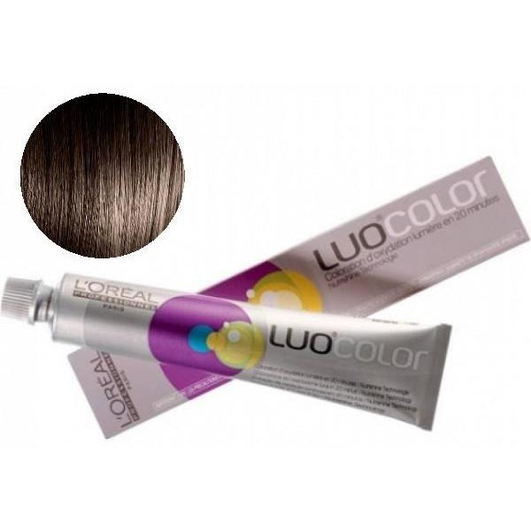 Luo color caoba Nº 5.35 Light Golden Brown 50 ML