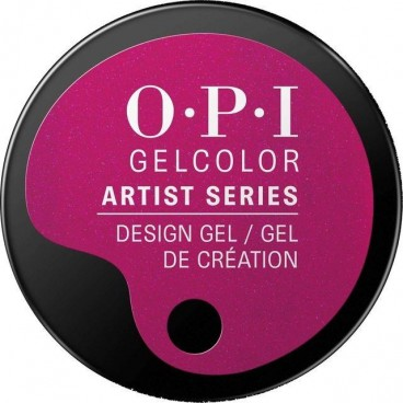 "OPI - Gel Color Artist ""A Fushia Too Many"" 3 Grs"