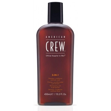 Conditioner Shampoo American Crew 3 in 1 450 ML