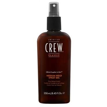 Spray Gel Médium américan Crew 250 ML