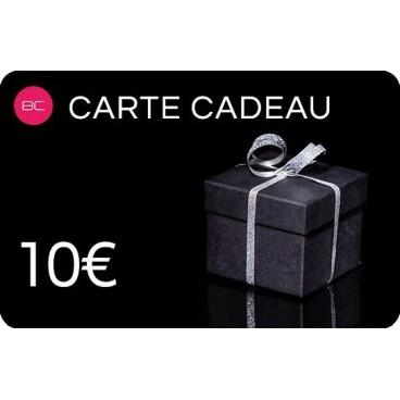 Carte cadeau 10 euros