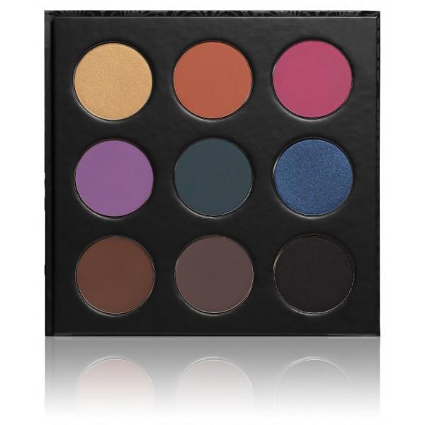 PaolaP paleta de sombra de ojos 9 loco de los colores