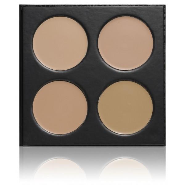 PaolaP paleta de maquillaje de fondo 4 colores