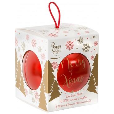 Boule de Noël Mini Vernis à Ongles Peggy Sage