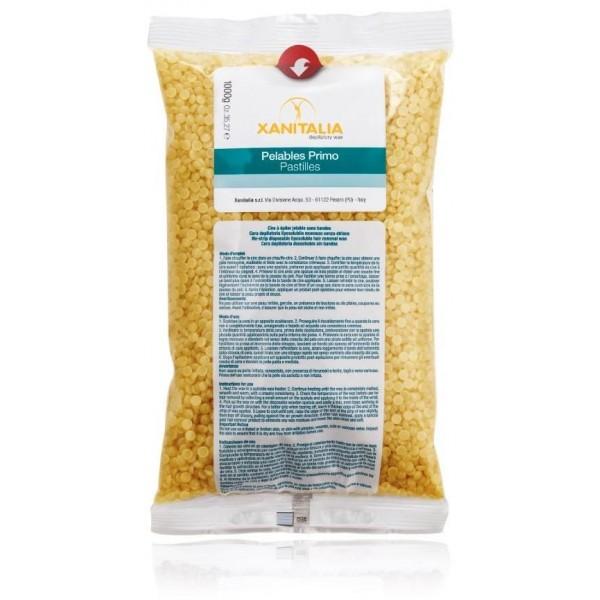 1 kg de cera de miel Pelable pastillas Xanitalia