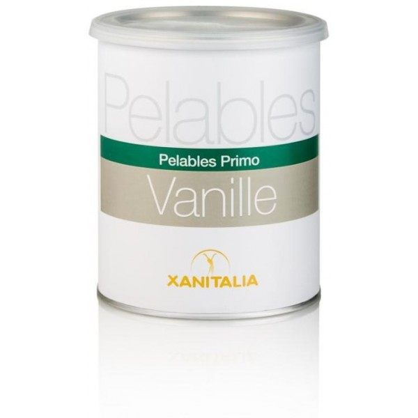 Wax Peelable Weiß Vanilla Pot 800ml Xanitalia