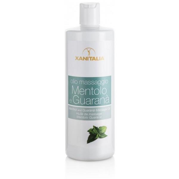 olio da massaggio XANITALIA mentolo / Guarana 500 ML
