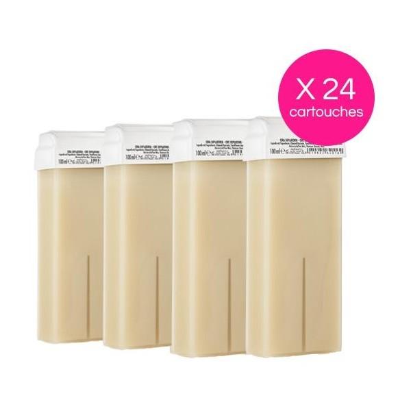 Pack de 24 cartuchos de cera desechable Nacree Xanitalia