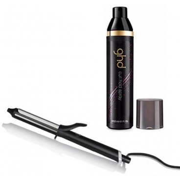 Pack GHD Curve Tong Classic Curl + Spray de maintien des boucle ghd