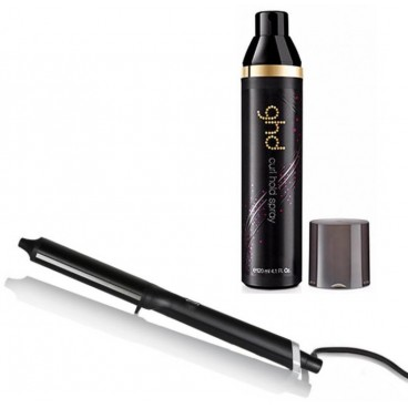 Pack ghd Curve Classic Wave Wand + Spray de maintien des boucle ghd