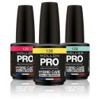 esmalte híbrido Mollon 15ml Pro semipermanente Color ()
