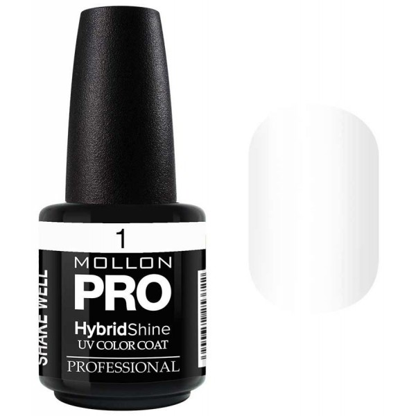 Vernis Semi-Permanent Hybrid Shine Mollon Pro 15ml