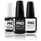 Permanent Varnish Soak Off Strong Gel Lack Mollon Pro 12ml (By Color)