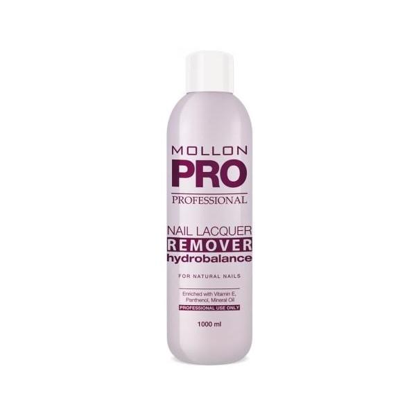 Sciogliendo idratante Nail Lacquer Remover HydroBalance Mollon Pro 1000ml