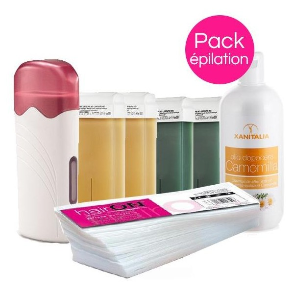 Pack Cire Roll'On Peaux Normales Xanitalia Miel/Chlorophylle Roll'On