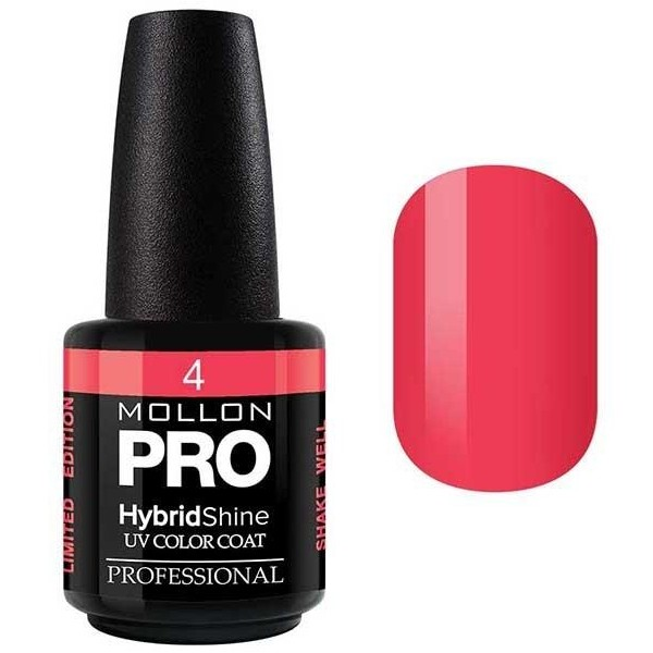Vernis Semi-Permanent Hybrid Shine Mollon Pro 15ml Coral - 04