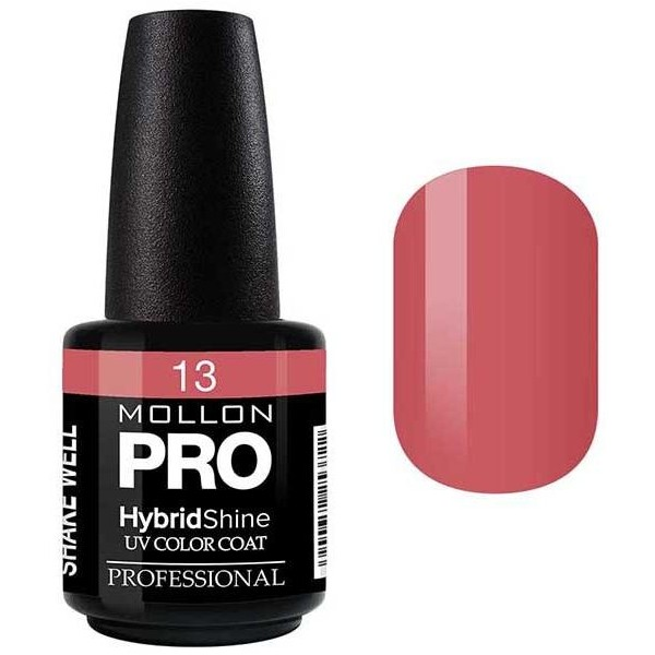 Vernis Semi-Permanent Hybrid Shine Mollon Pro 15ml Mauve - 13
