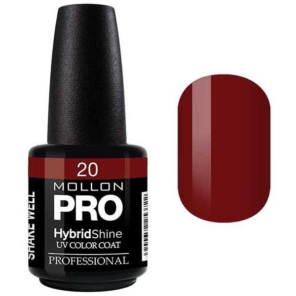 Vernis Semi-Permanent Hybrid Shine Mollon Pro Crimson - 20
