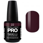 Semi-Permanent Varnish Hybrid Shine Mollon Pro 15ml Claret - 22