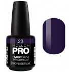 Vernis Semi-Permanent Hybrid Shine Mollon Pro 15ml Inky - 23