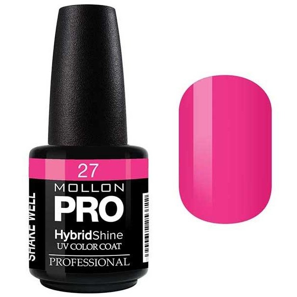 Vernis Semi-Permanent Hybrid Shine Mollon Pro 15ml Jessica - 27