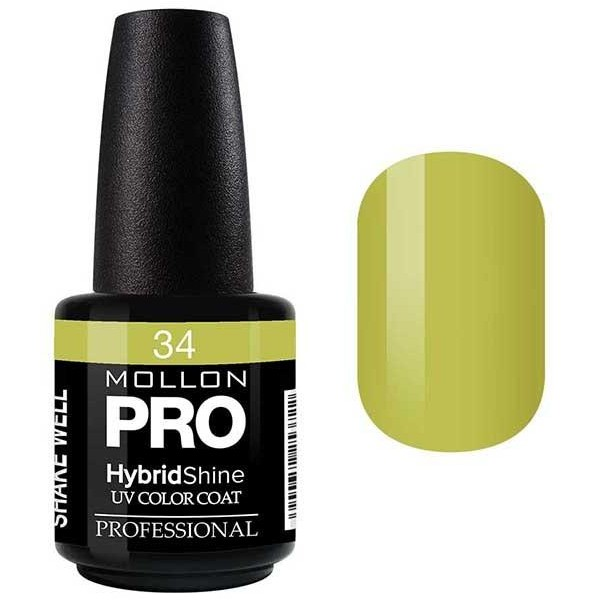 Vernis Semi-Permanent Hybrid Shine Mollon Pro 15ml Dahlia - 34