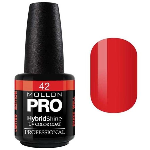 Vernis Semi-Permanent Hybrid Shine Mollon Pro 15ml Gloriosa - 42