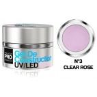 Bau UV Gel / Led Mollon Pro 15ml Klar Rose - 03