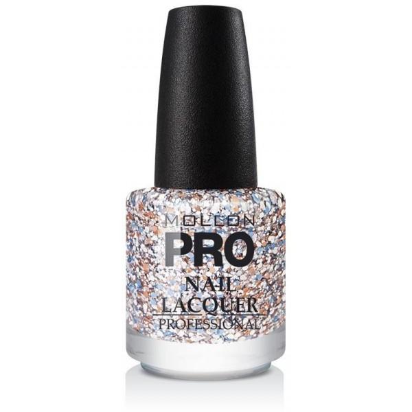 Glitter Top Coat Effetto Mollon Pro pastello Dots - 205