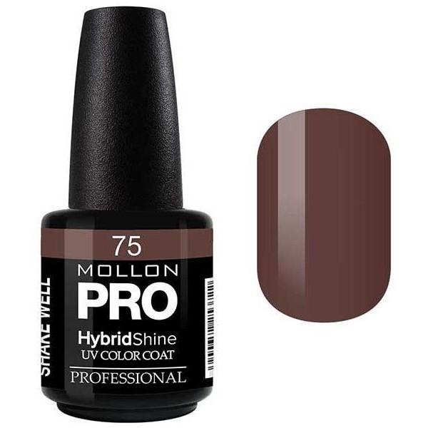 Semi-Permanent Hybrid Varnish Shine Mollon Pro 15ml Dorothée - 75