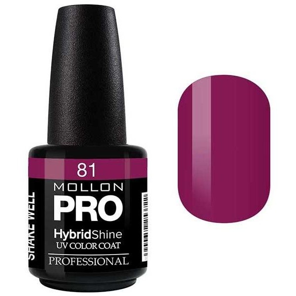 Semi-Permanent Varnish Hybrid Shine Mollon Pro 15ml Judith - 81