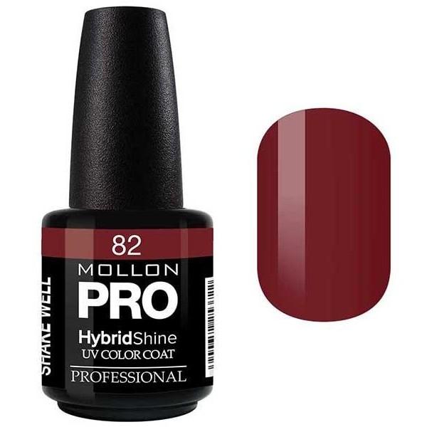 Semi-Permanent Varnish Hybrid Shine Mollon Pro 15ml Clarisse - 82