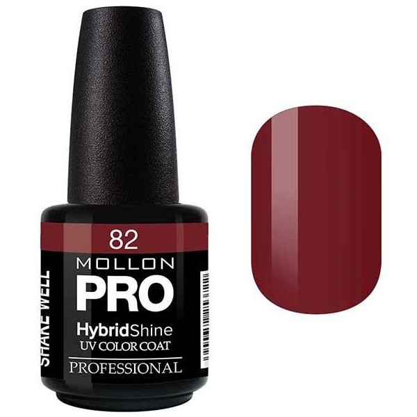 Smalto semi-permanente Hybrid Shine Mollon Pro Clarisse - 82