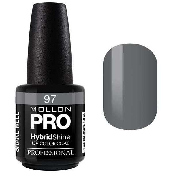 Lack Semi-Permanent Glanz Mollon Pro Hybrid 15ml Gilberte - 97