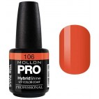 Hybrid Semi-Permanent Varnish Shine Mollon Pro 15ml Henriette - 106