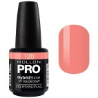 Nude Orange Semi-Permanent Varnish Hybrid Shine Mollon Pro 15ml
