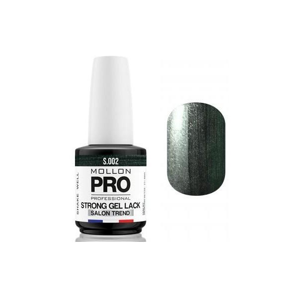 Standing Strong Politur Soak Off Gel Lack Mollon Pro 12ml Hämatit Beauty - 02