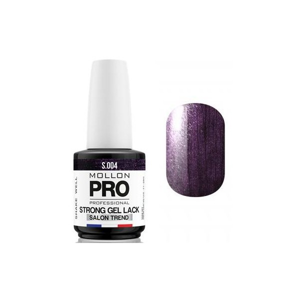 Shake Amethyst - 04 Permanent Soak Off Strong Gel Lack Mollon Pro