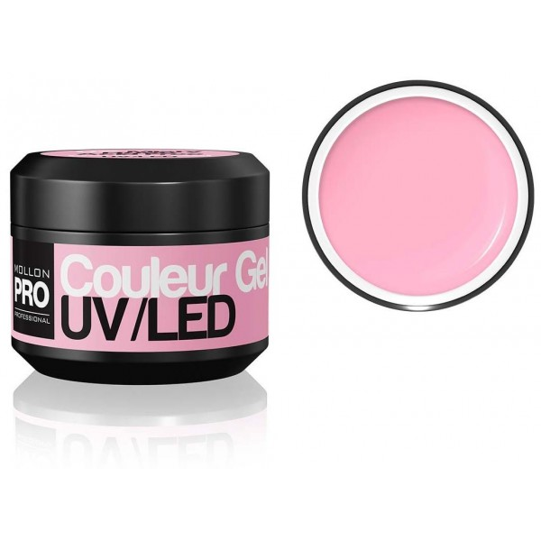 gel del color de UV Mollon Pro Misty Rose - 02