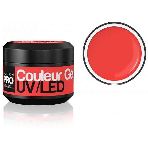 gel del color de UV Mollon Pro coral ligero - 04