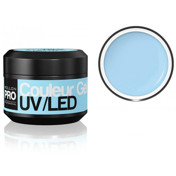 Farbe UV-Gel Mollon Pro Powder Blue - 05