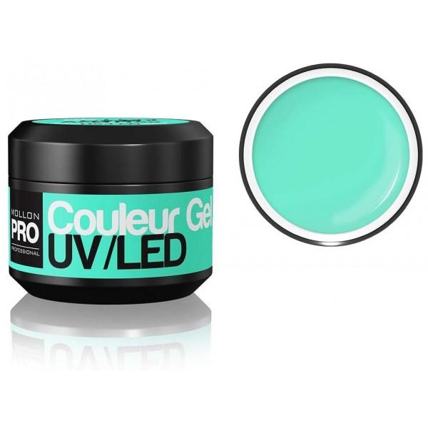 Gel UV de couleur Mollon Pro Light Cyan - 06